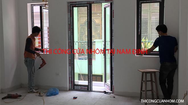 Thi công cửa nhôm tại Nam Định