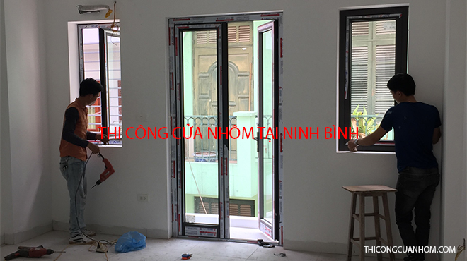 Thi công cửa nhôm tại Ninh Bình