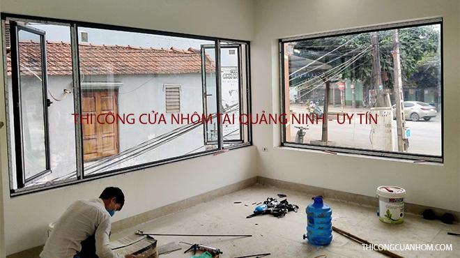 Thi công cửa nhôm tại Quảng Ninh
