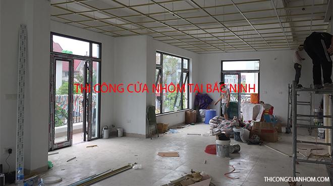 Thi công cửa nhôm tại Bắc Ninh