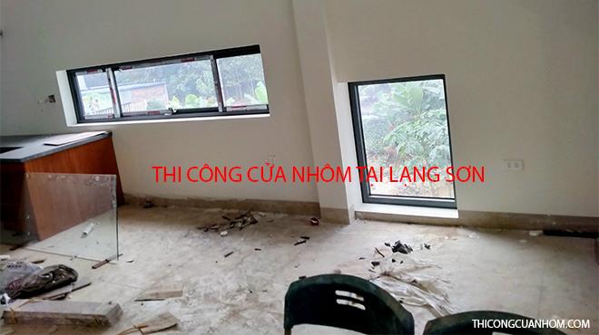 Thi công cửa nhôm tại Lạng Sơn