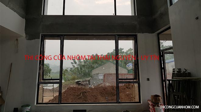 Thi công cửa nhôm tại Thái Nguyên