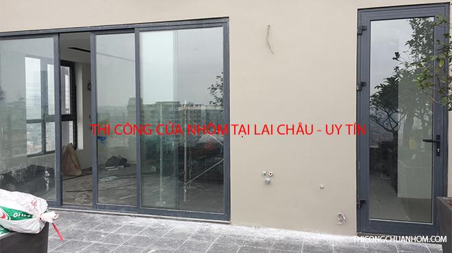 Thi công cửa nhôm tại Lai Châu